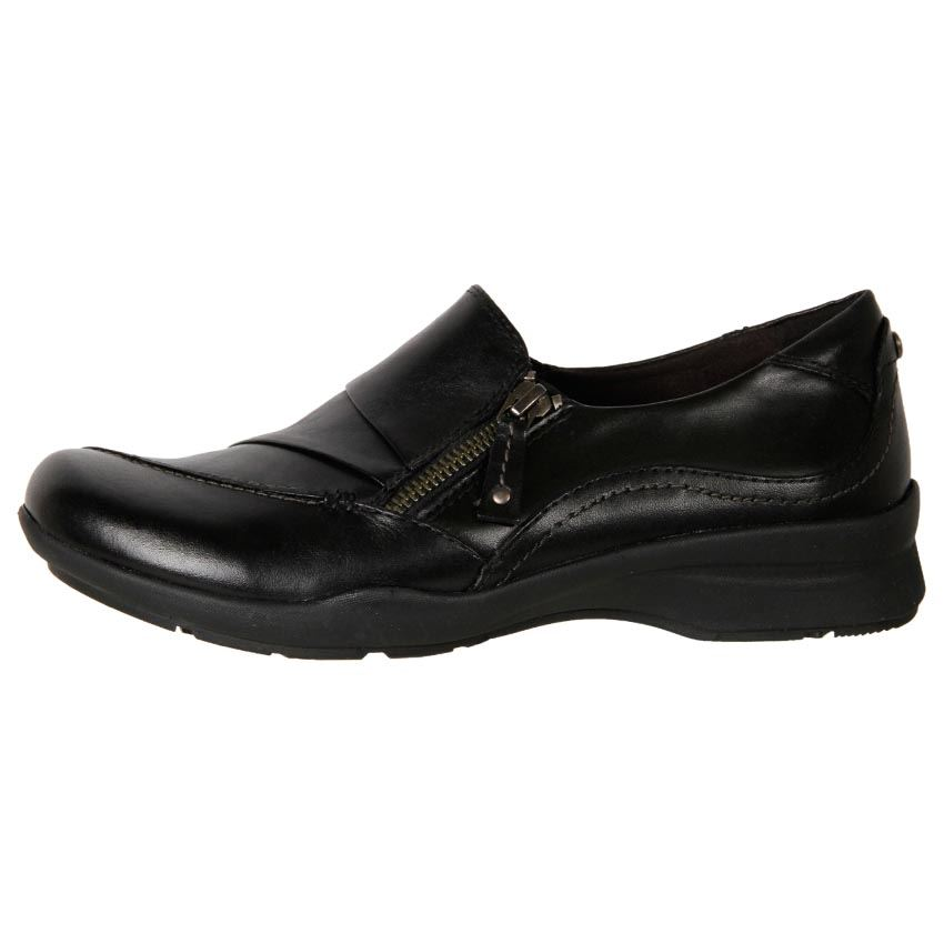 new earth s premium leather comfort slip on work
