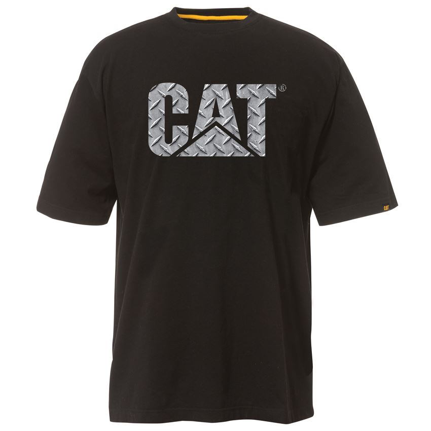 New caterpillar men 39 s custom logo tee work t shirt cheap for Cheap workout shirts mens