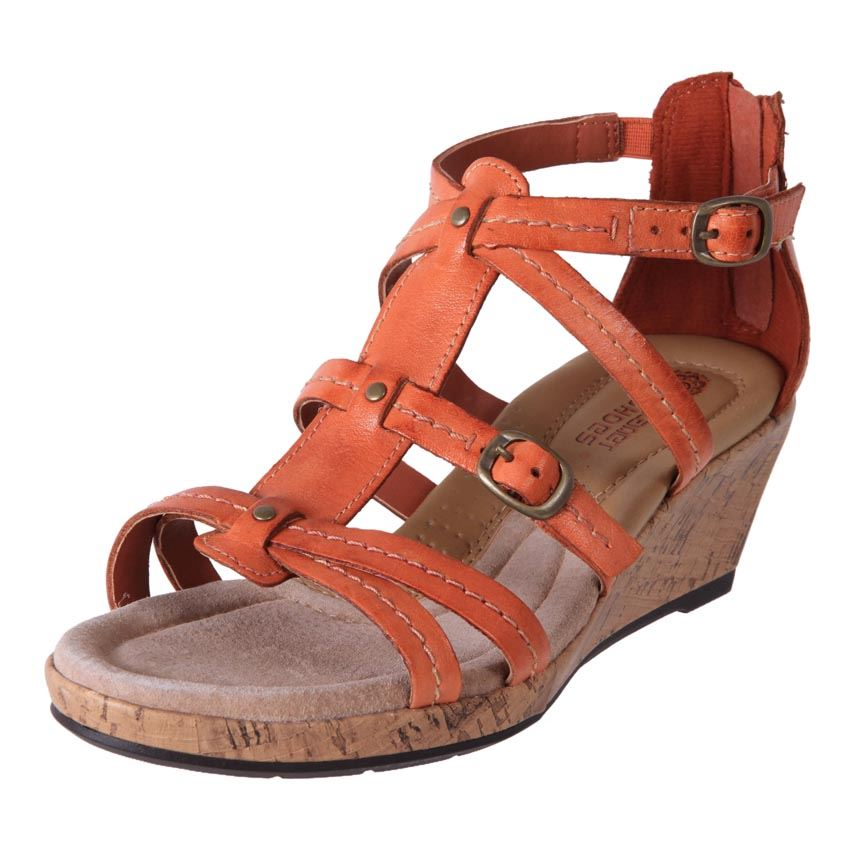 planet shoes comfort leather wedge gladiator sandals