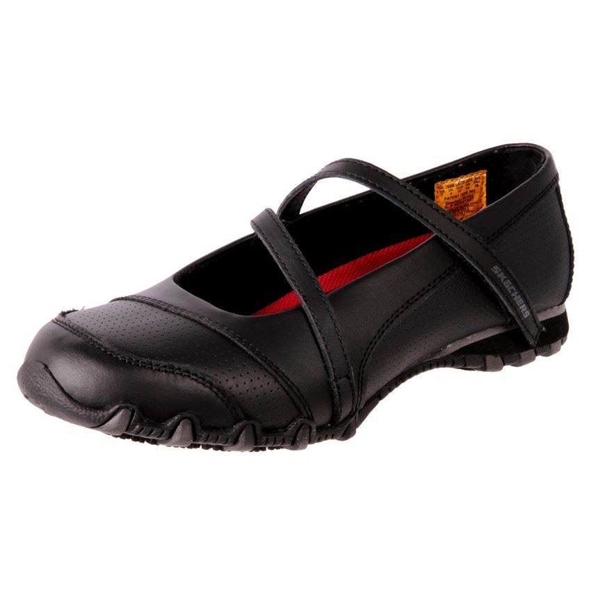 Womens Cheap Non Slip Black Shoes