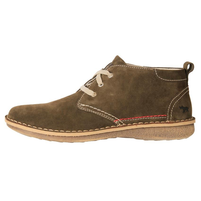 rhino european made s suede comfort desert boot