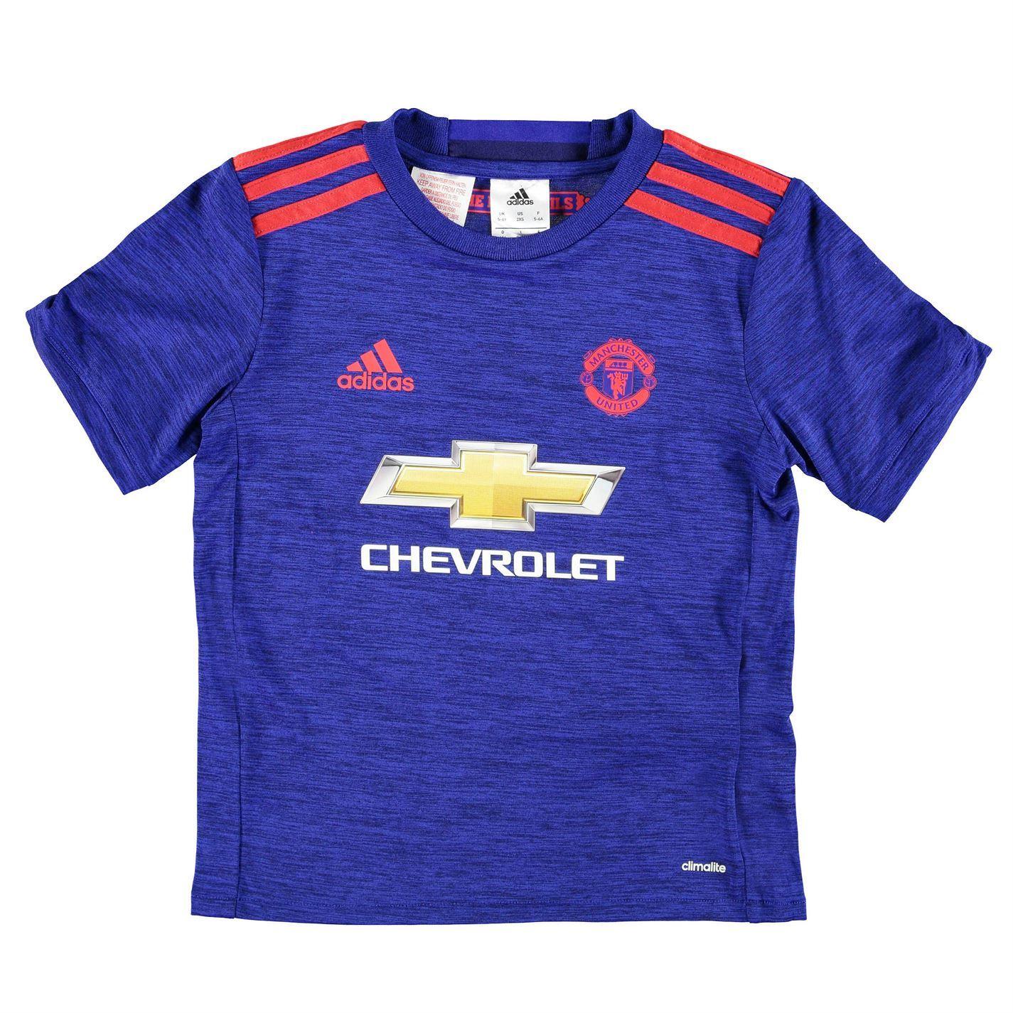 Adidas Manchester United FC Away Jersey 2016 2017 Juniors ...