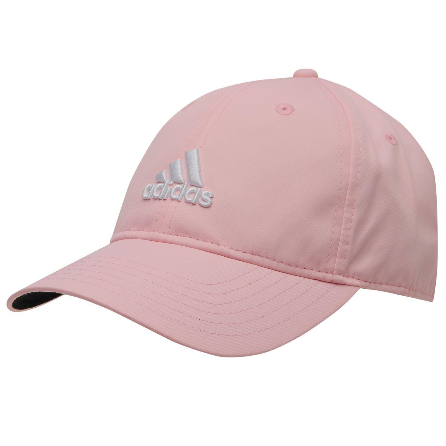 adidas golf baseball cap mens pink peaked sports hat ebay