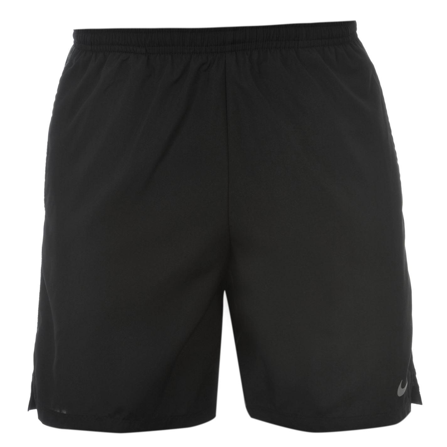 nike dri fit 7 inch challenge mens running shorts black grey jogging sportswear ebay