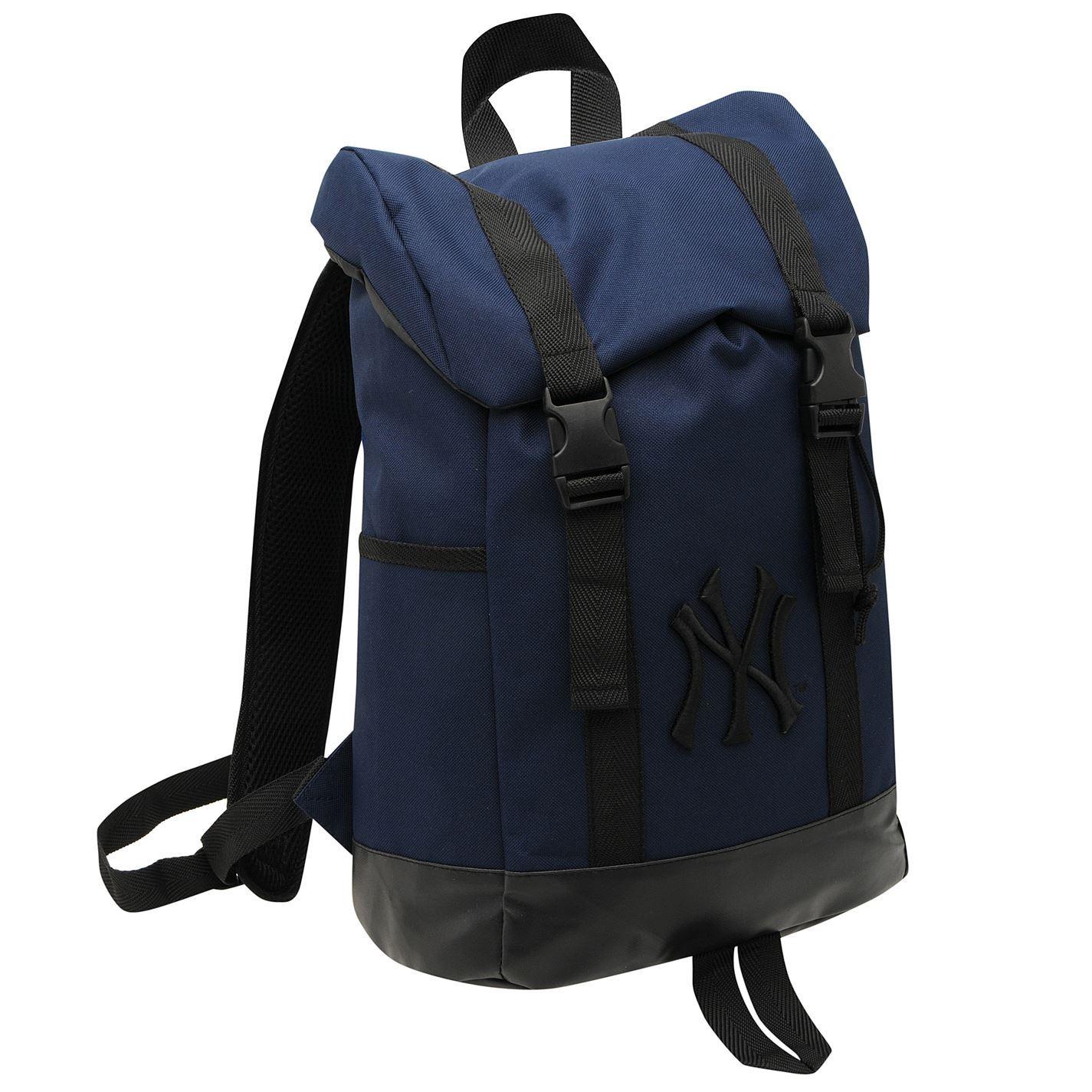 new york yankees duffle backpack mens navy rucksack bag. Black Bedroom Furniture Sets. Home Design Ideas