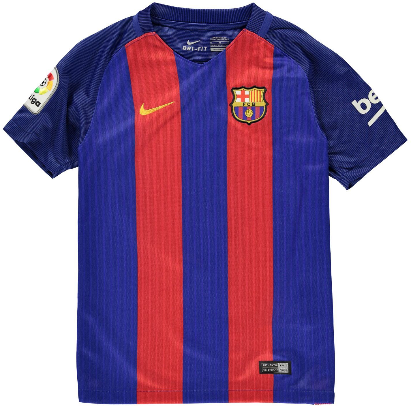 Details About Nike Fc Barcelona Home Jersey   Juniors Royal