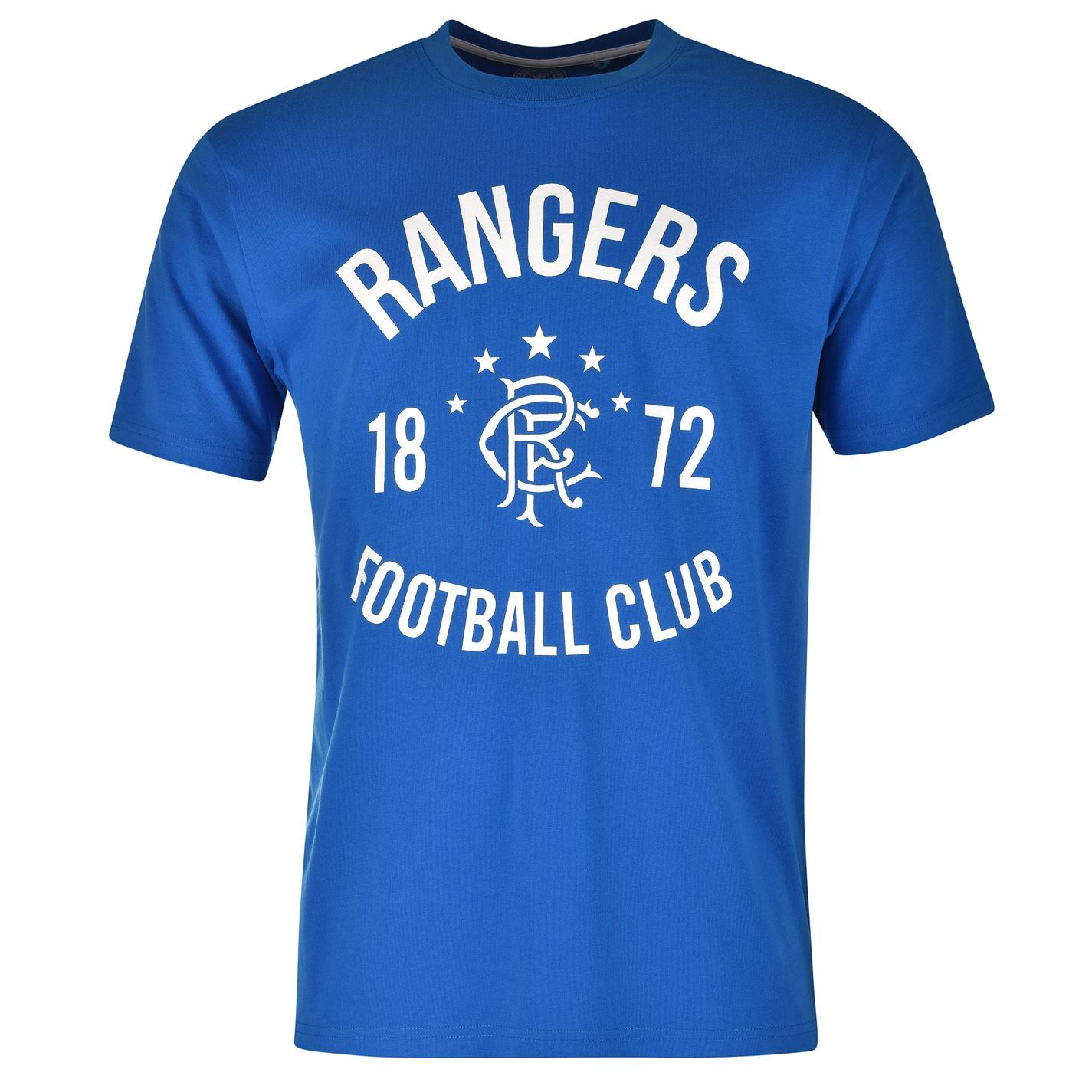 Glasgow rangers fc 1872 crew t shirt mens royal football for Rangers t shirts women s