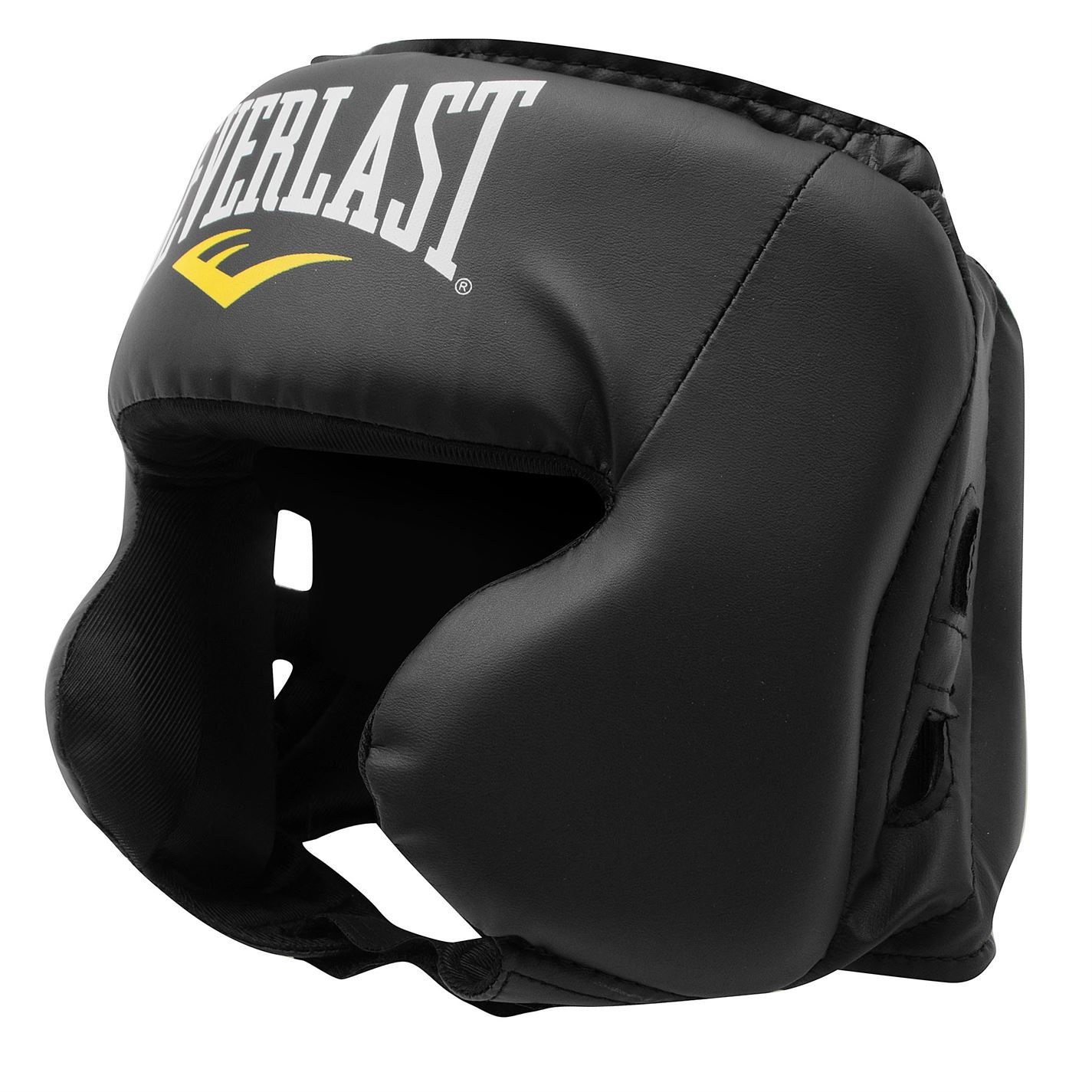 Details About Everlast Boxing Training Headguard Black Gym Fitness