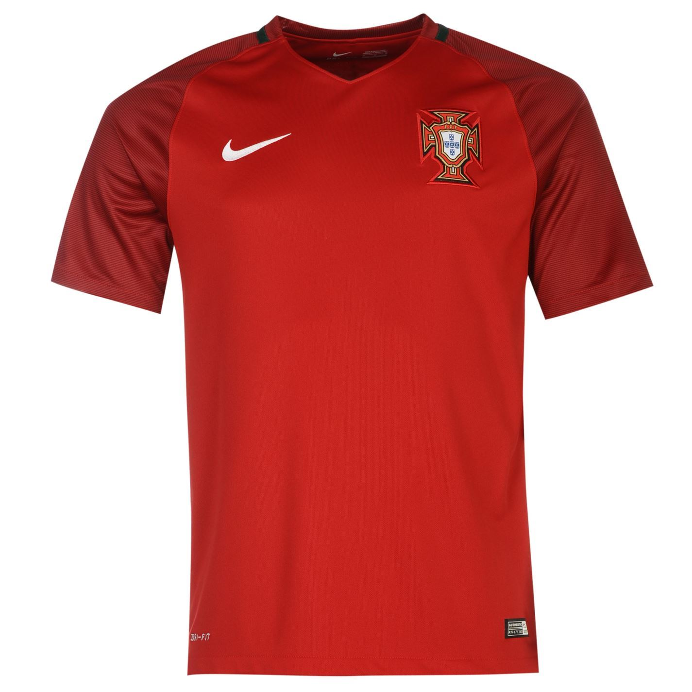nike portugal home jersey 2016 mens red football soccer shirt top ebay. Black Bedroom Furniture Sets. Home Design Ideas