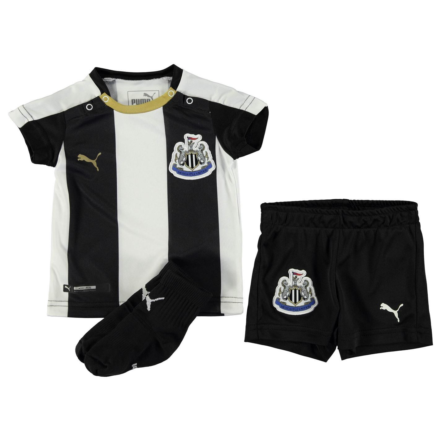 Puma Newcastle United Home Kit 2016 2017 Infants Football ...