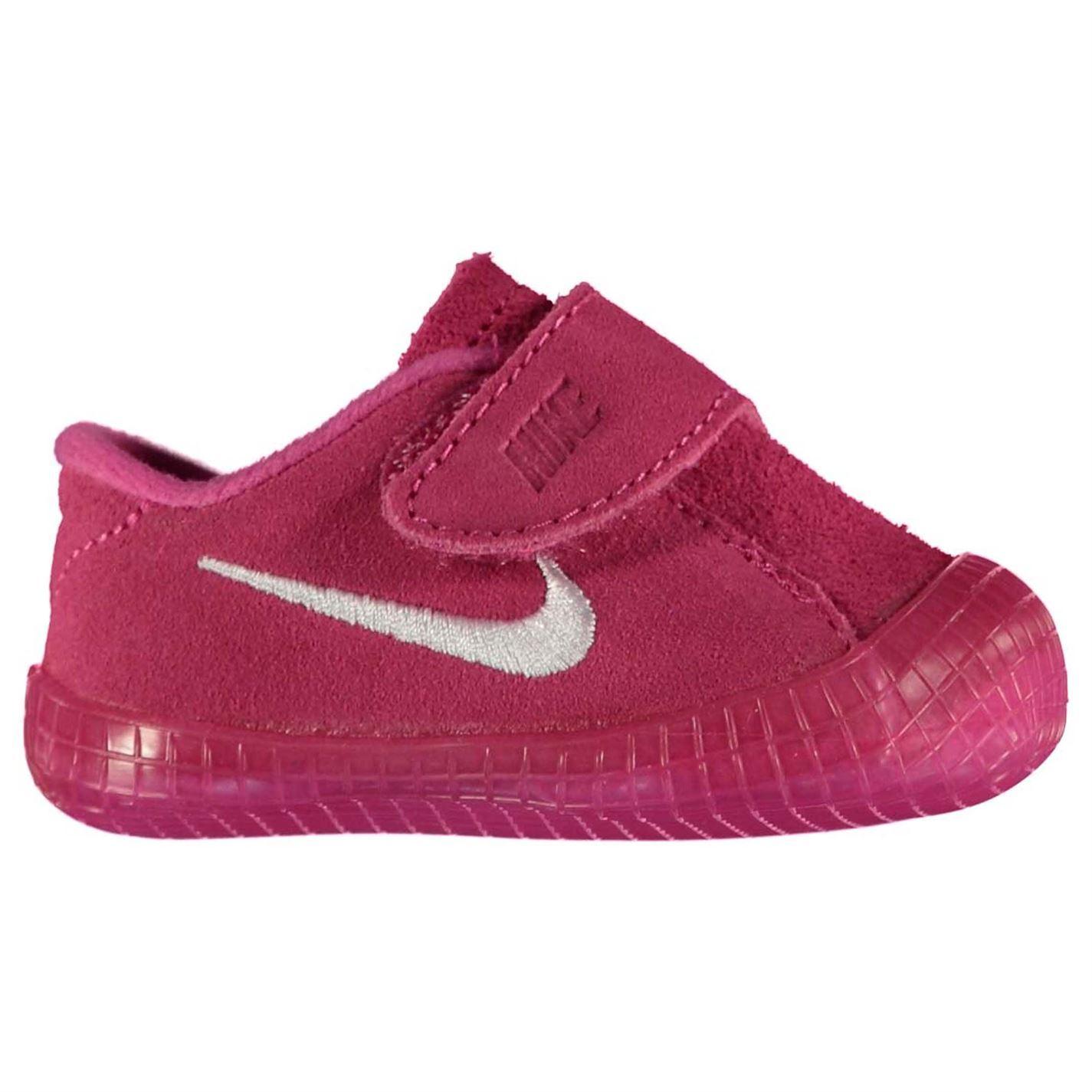 Nike Waffle 1 Crib Shoes Infant Baby Girls Pink/White ...