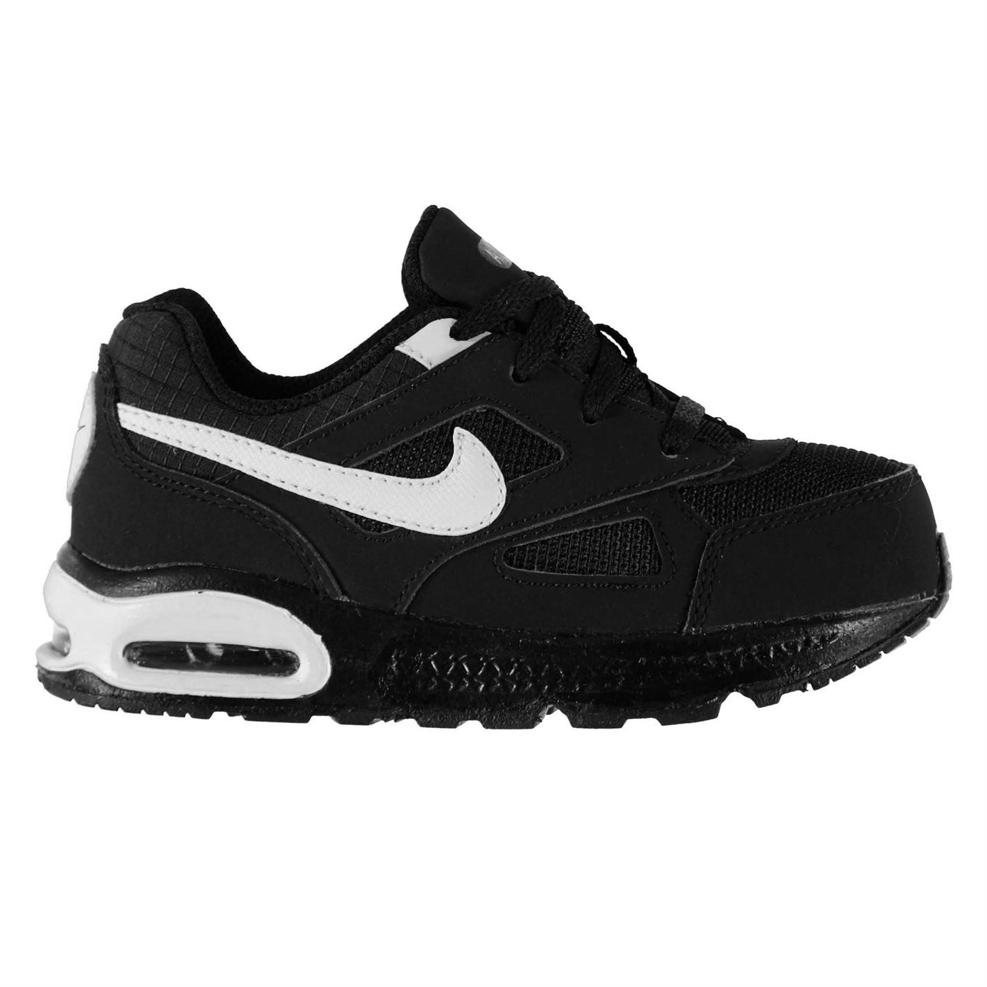 nike air max ivo trainers infants black white baby. Black Bedroom Furniture Sets. Home Design Ideas