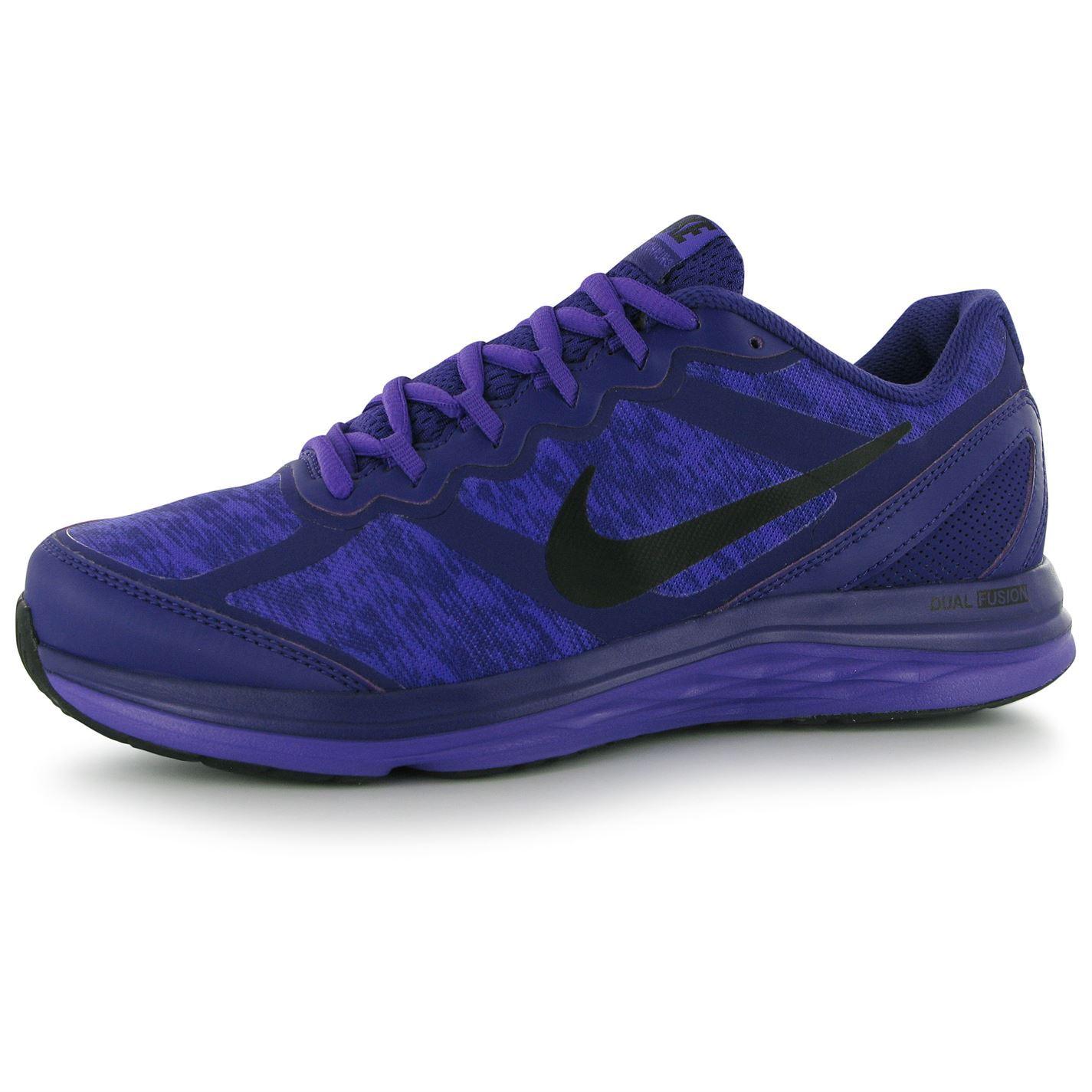 Nike Dual Fusion Run 3 Womens Running Shoes Trainers ...