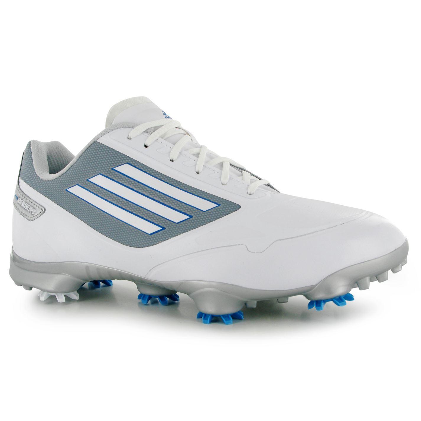 adidas adizero one wd golf shoes mens white golfing
