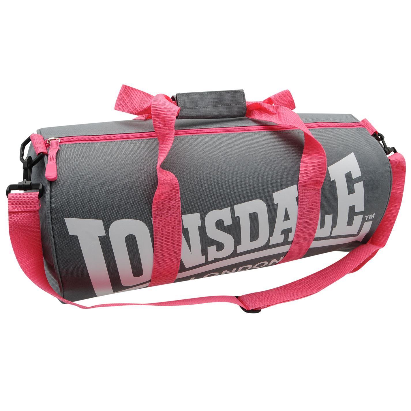 LONSDALE London Barrel Bag Holdall Boxing Sports Kitbag Gym Sports