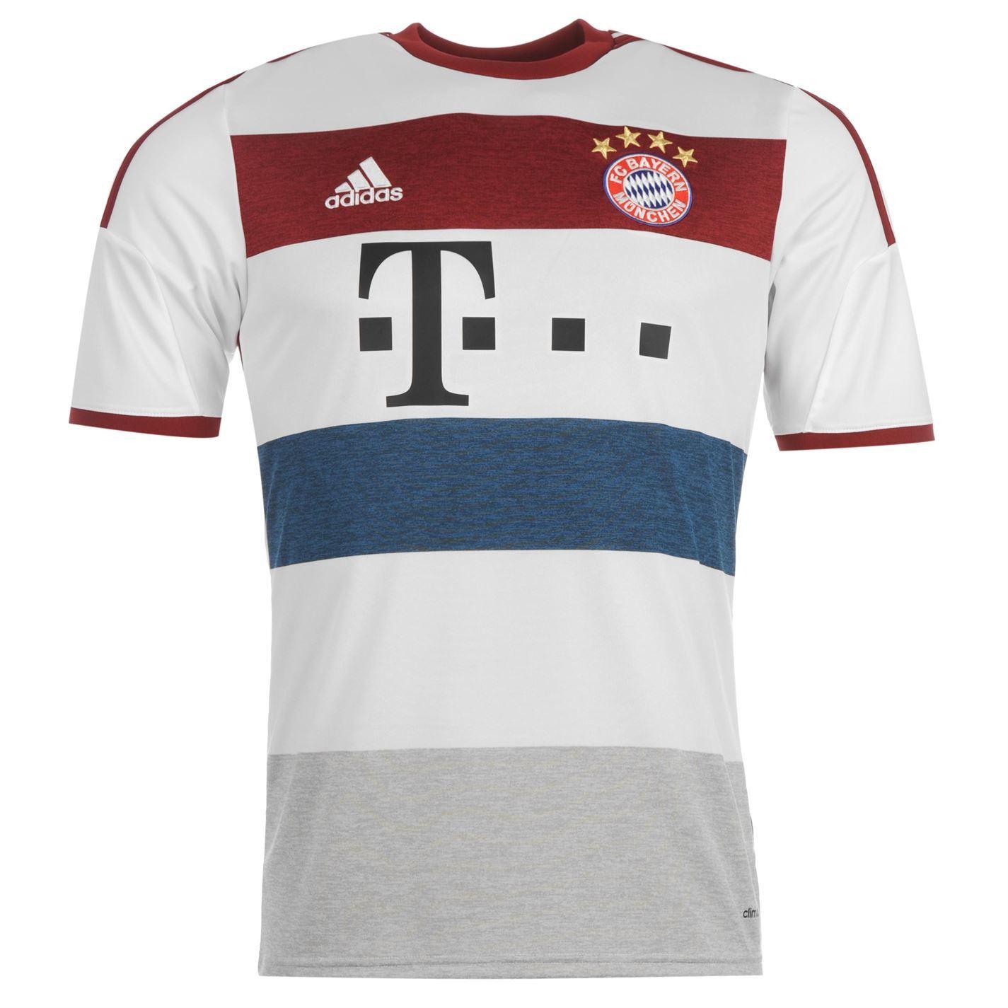 Details About Adidas Fc Bayern Munich Away Jersey   Mens White