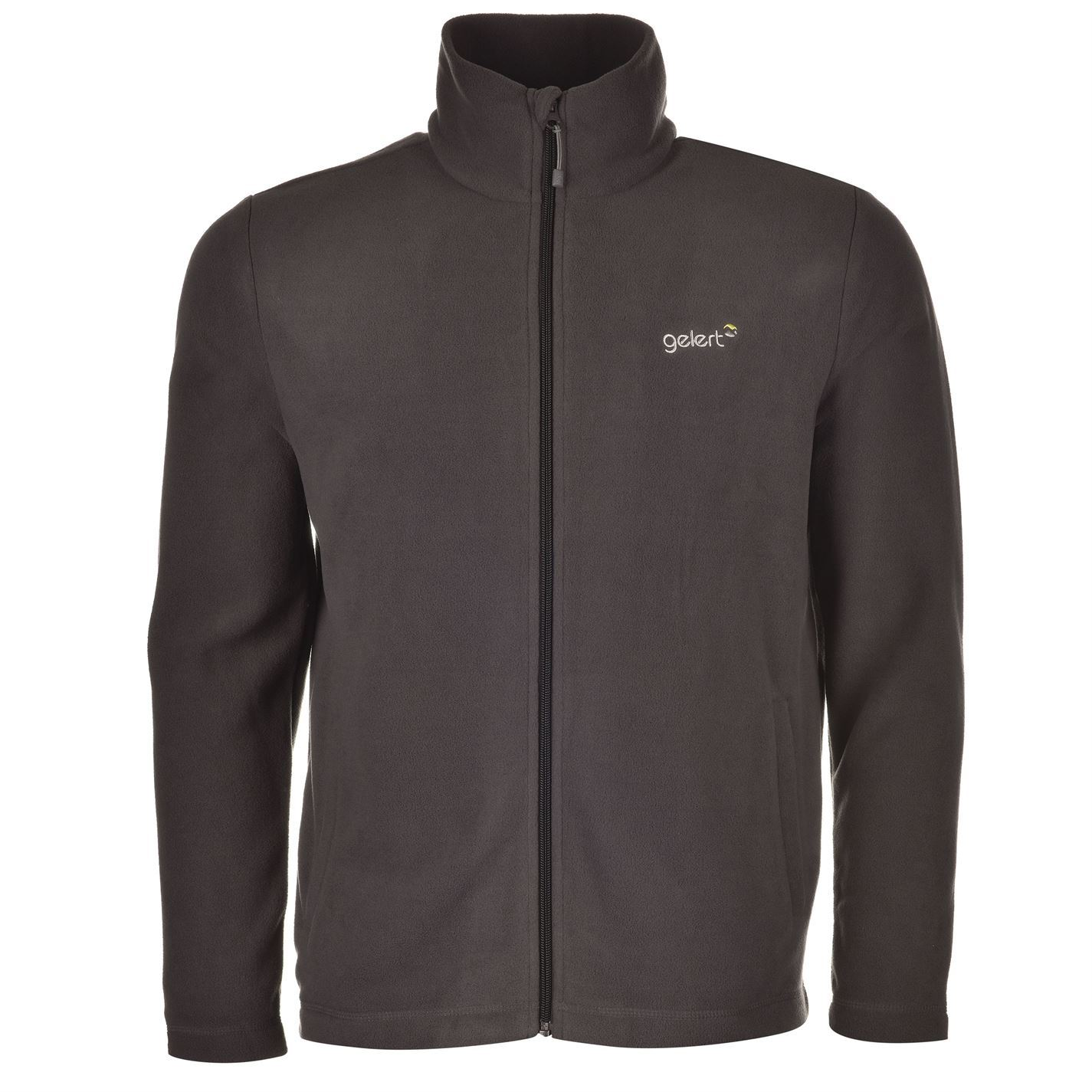 Gelert Ottawa Fleece Jacket Mens Charcoal Jackets Coats