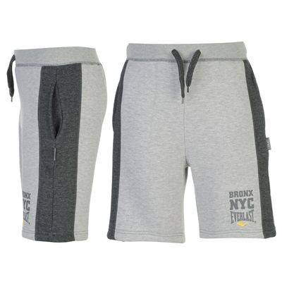 EVERLAST-Boys-Grey-Logo-Fleece-Shorts