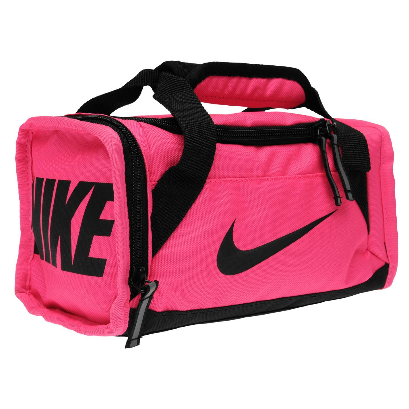 nike brasilia lunch bag pink sports gymbag kitbag ebay. Black Bedroom Furniture Sets. Home Design Ideas