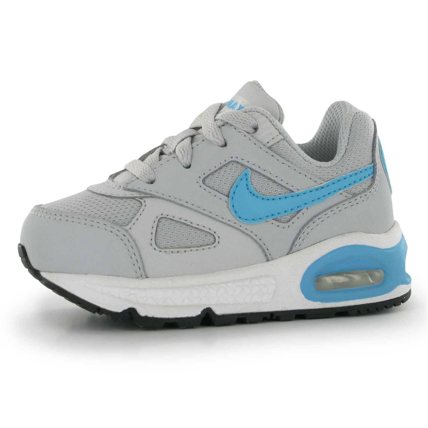 nike air max ivo trainers infant platinum blue