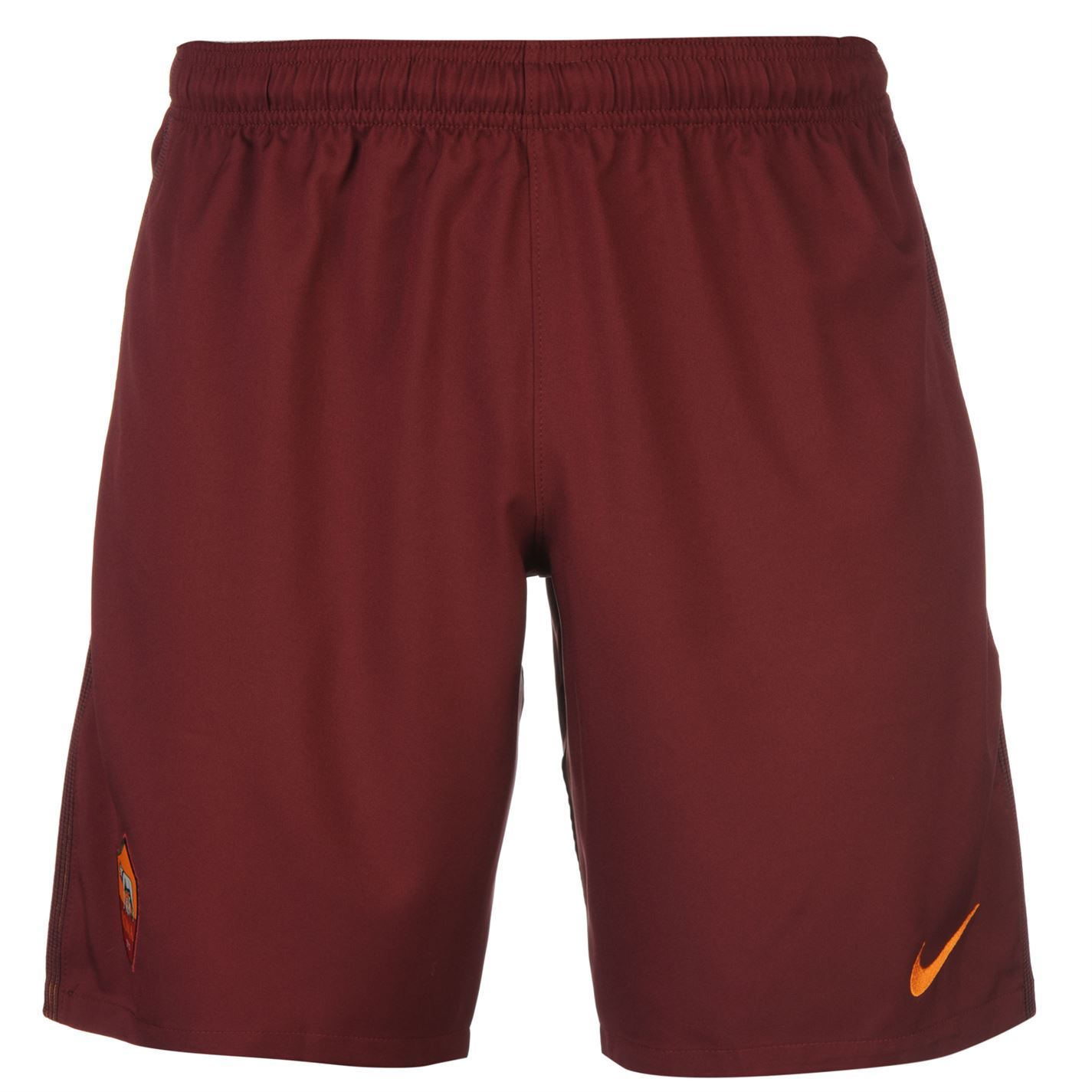 Nike AS Roma Home Shorts 2016 2017 Mens Maroon Football ...
