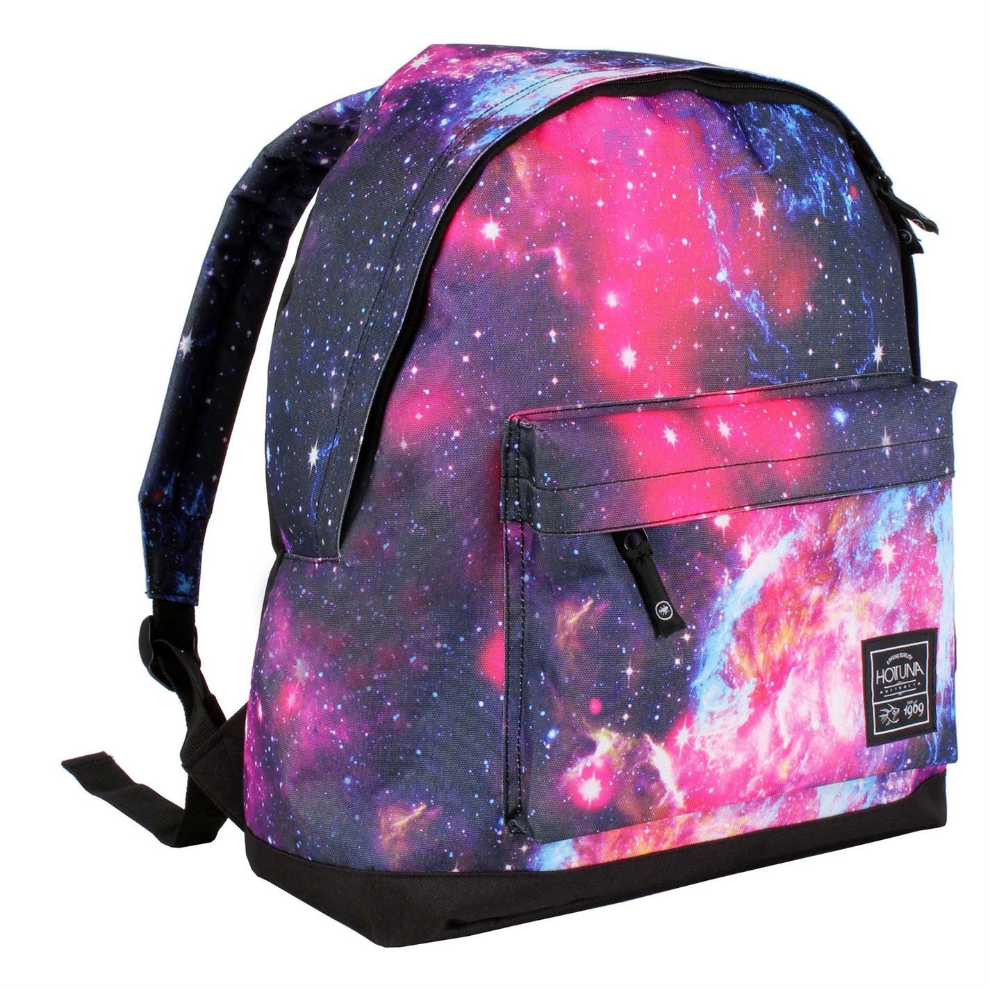 Hot Tuna Galaxy Backpack Pink/Purple Rucksack Shoulder Carryall ...