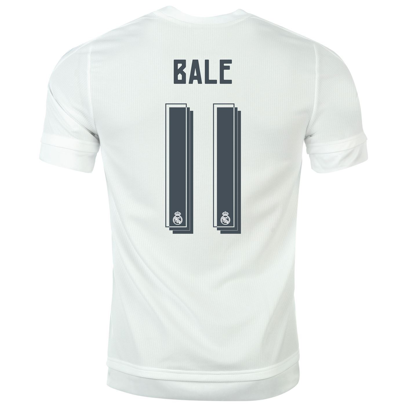 Adidas Real Madrid Cf Home Bale   Juniors White