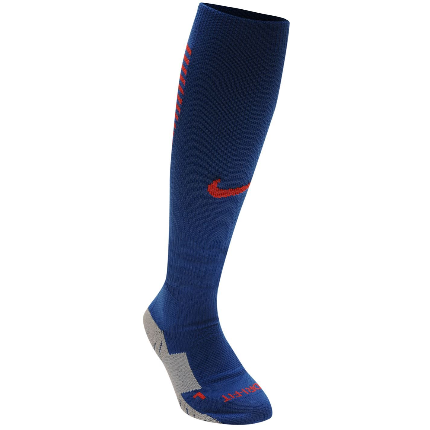 Nike England Away Socks Royal/Red Football Soccer Sock