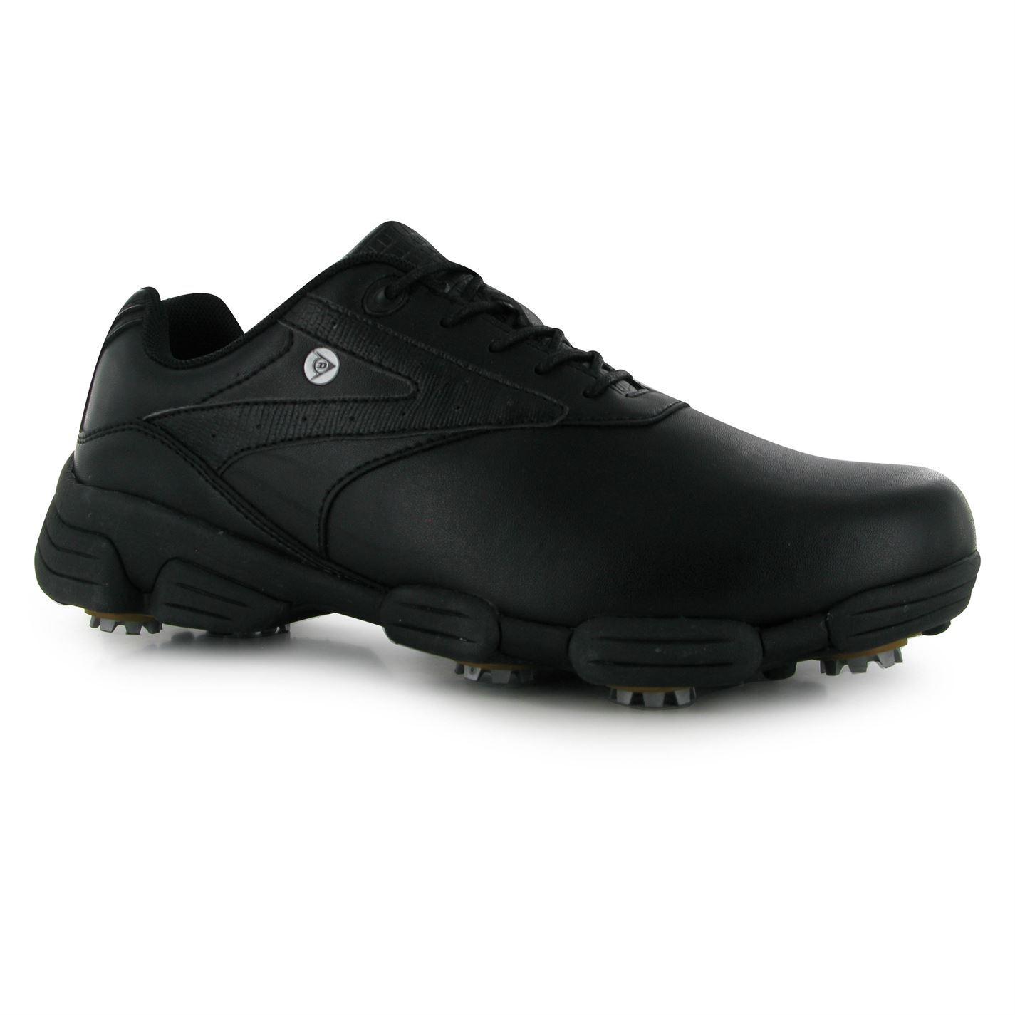 dunlop biomimetic 100 golf shoes mens black golfing