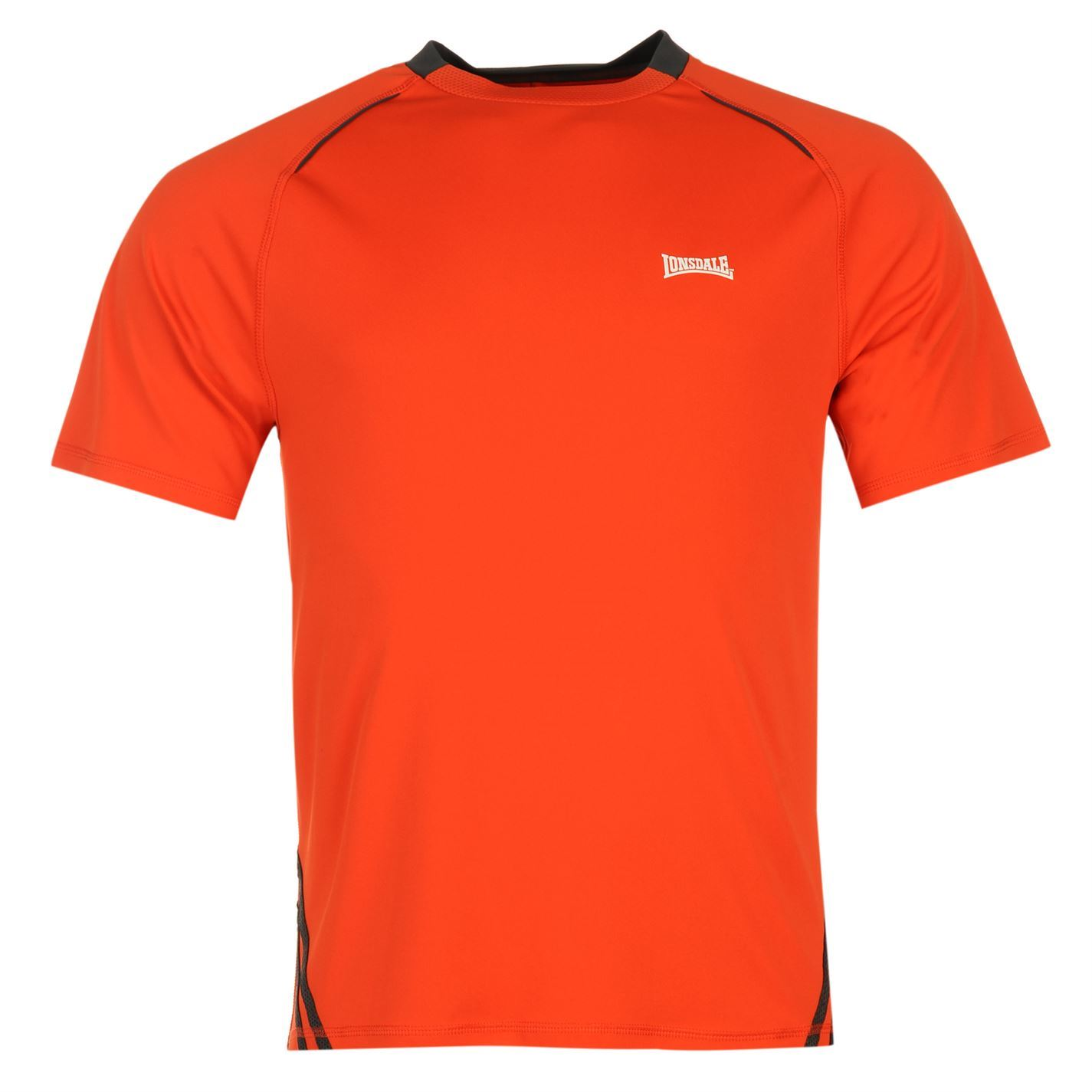 lonsdale training t shirt mens orange top tee shirt ebay. Black Bedroom Furniture Sets. Home Design Ideas
