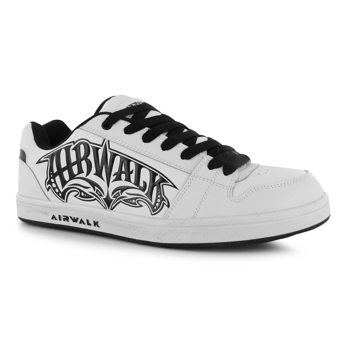 airwalk x skate shoes mens white black casual