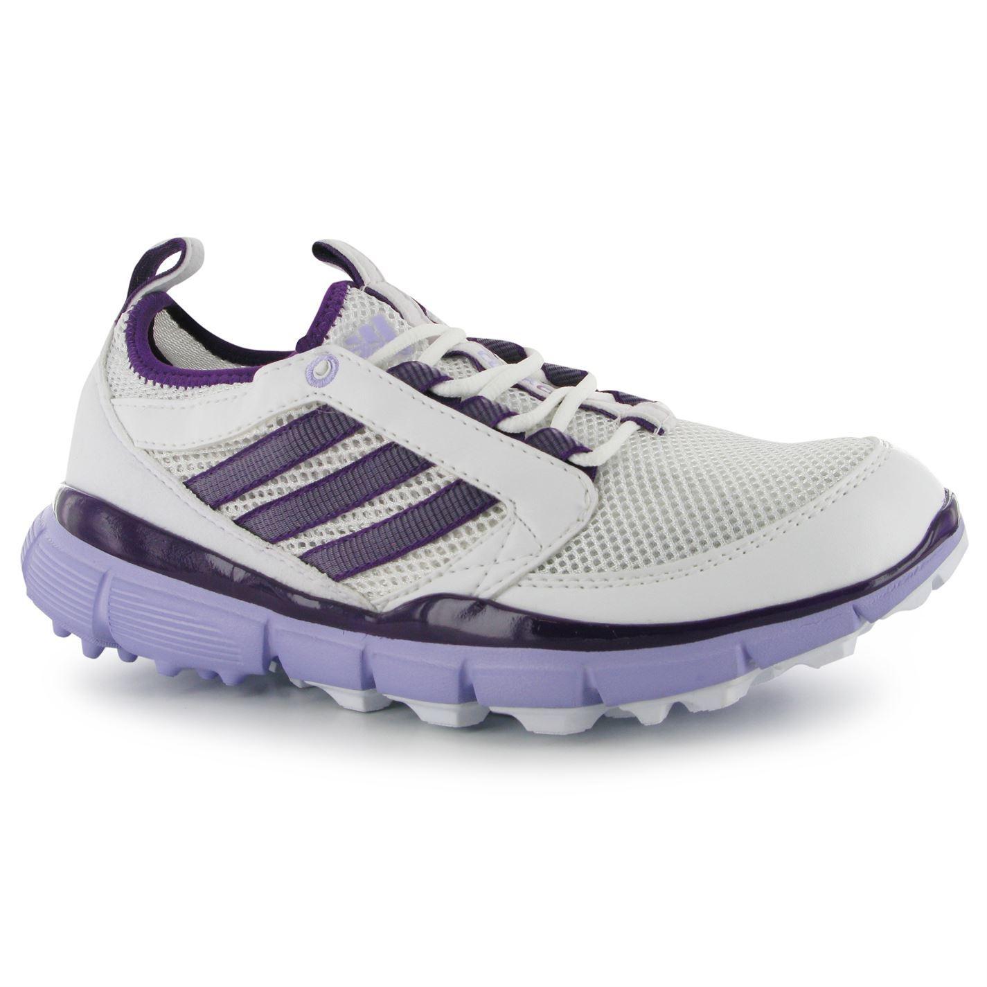 adidas adistar climacool golf shoes womens white purple ebay