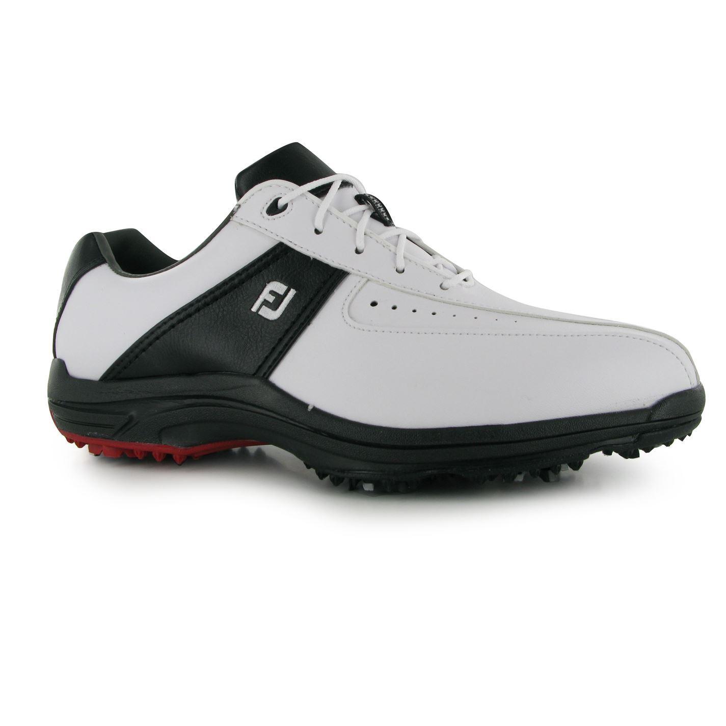 footjoy greenjoy golf shoes mens white black trainers