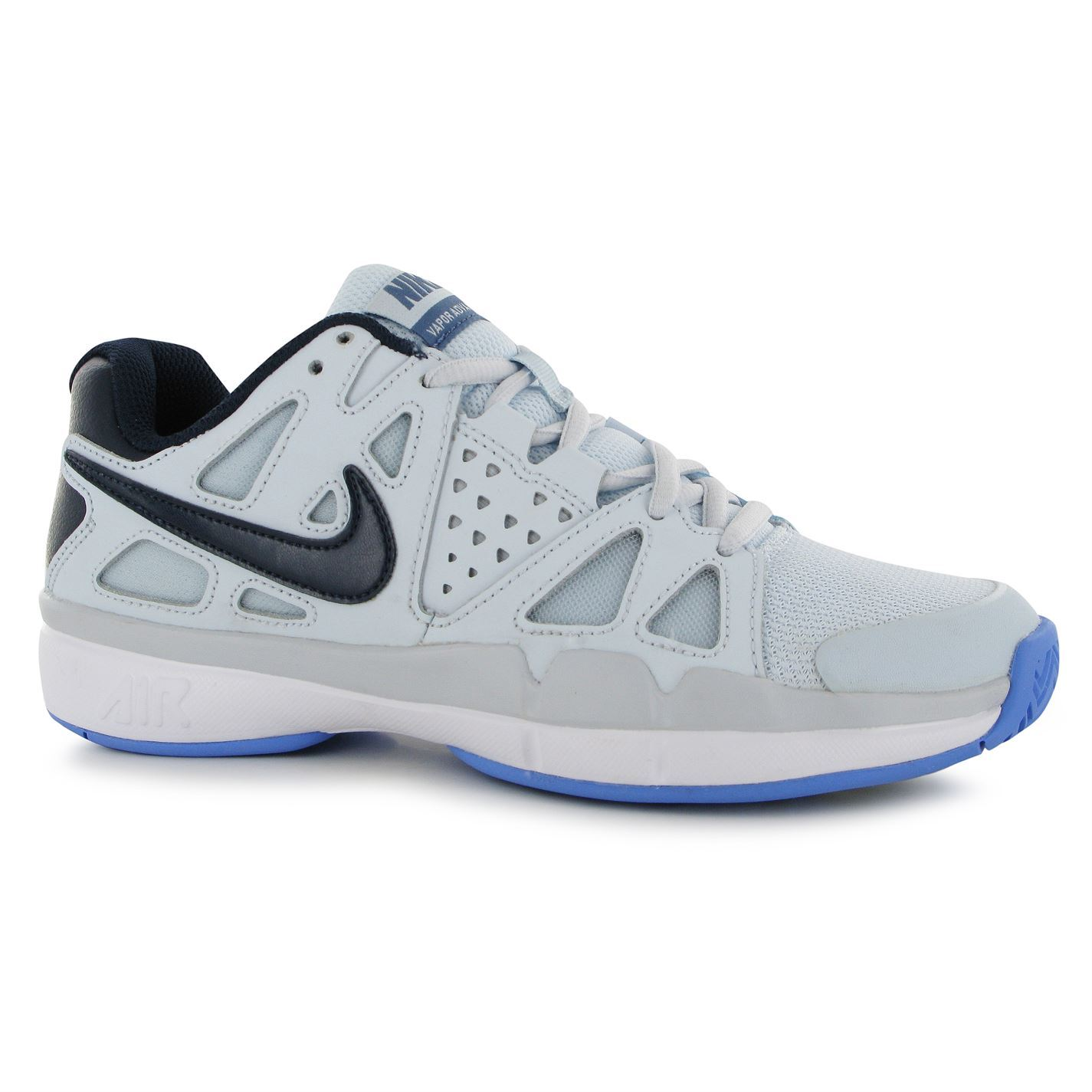 nike air vapor advantage tennis shoes womens blue navy