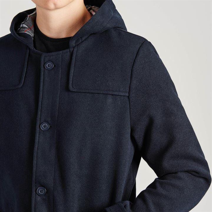 Kangol Short Duffle Jacket Mens Navy Jackets Coats Outerwear | eBay