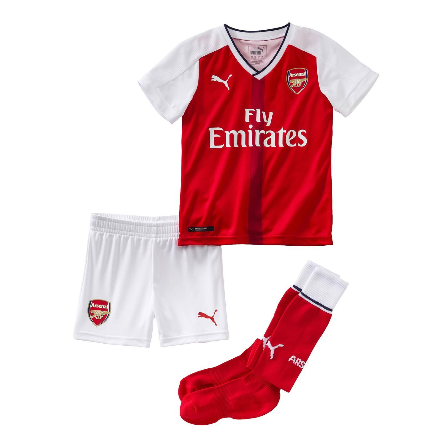 Puma Arsenal Fc Home   Mini Kit Childs Football Soccer Jersey