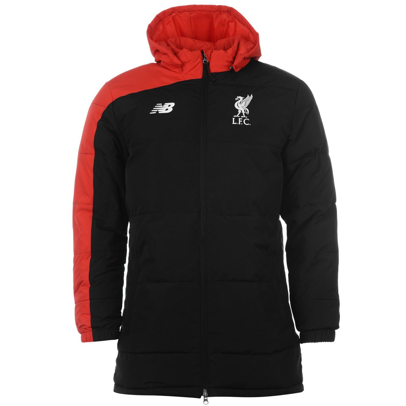 Details About New Balance Liverpool Fc Stadium Jacket Mens Black Epl