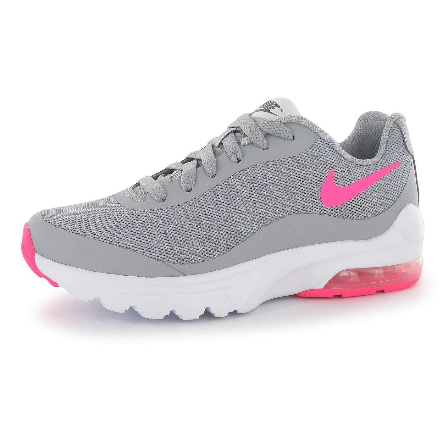 Pink Grey Nike Shoes