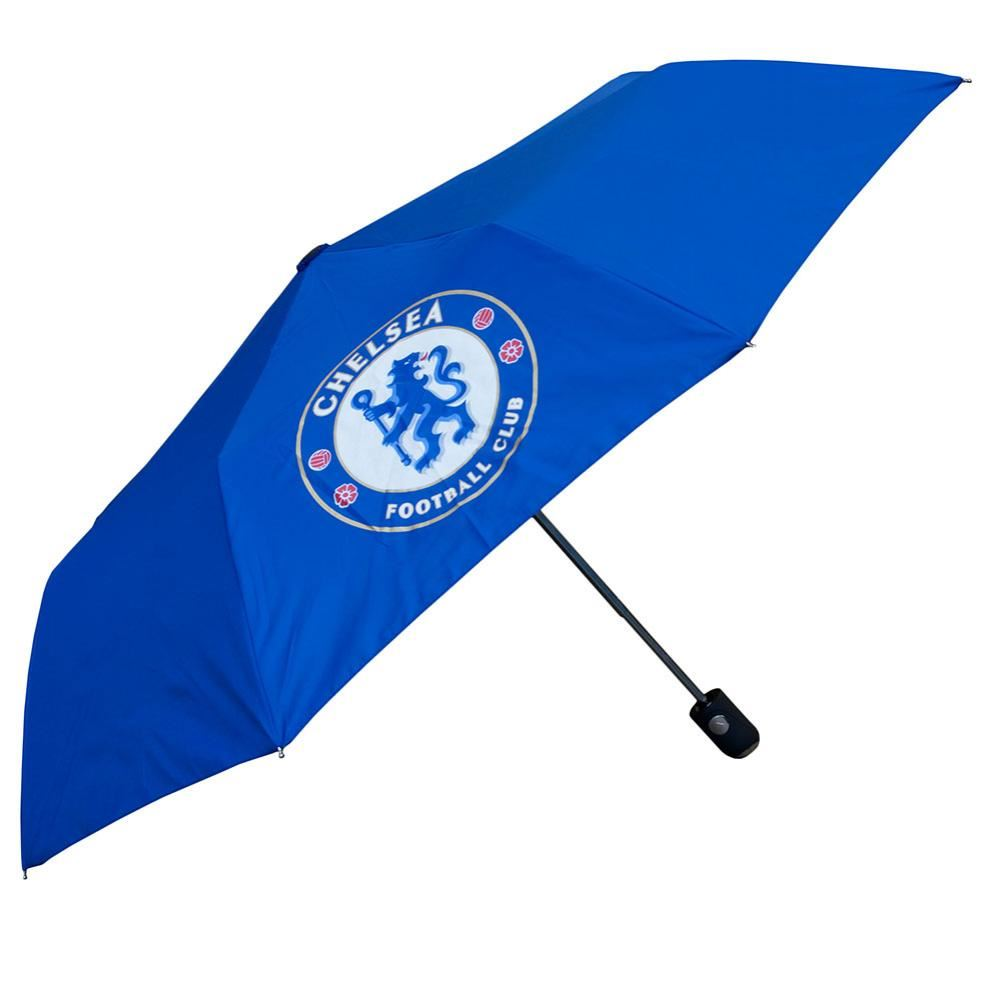 Details About Chelsea Fc Compact Golf Umbrella Football Soccer Epl