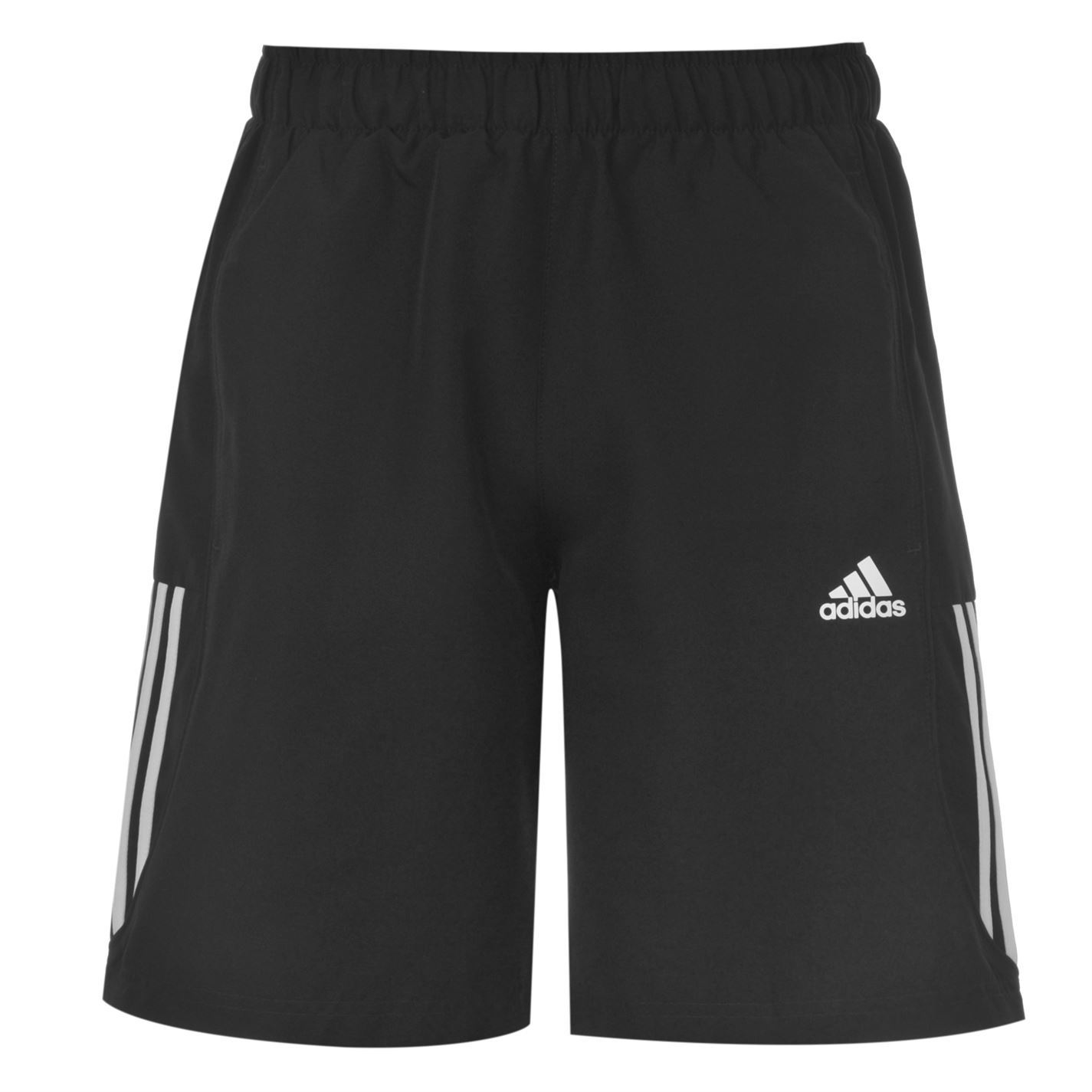 adidas 3 stripe chelsea climalite shorts mens black white. Black Bedroom Furniture Sets. Home Design Ideas