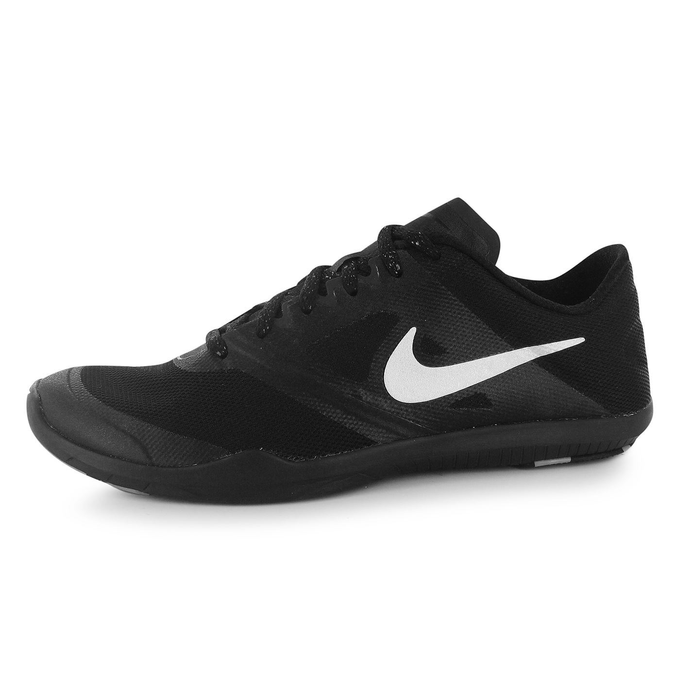 Nike Studio 2 Fitness Trainers Womens Black/Silver Gym Workout Sneakers Shoes | EBay