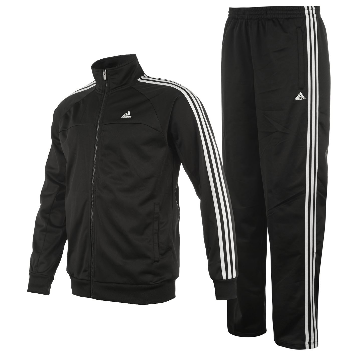 Mens Jogging Tracksuit Sports Hooded Sweat Suit Athletic ...  |Athletic Tracksuits