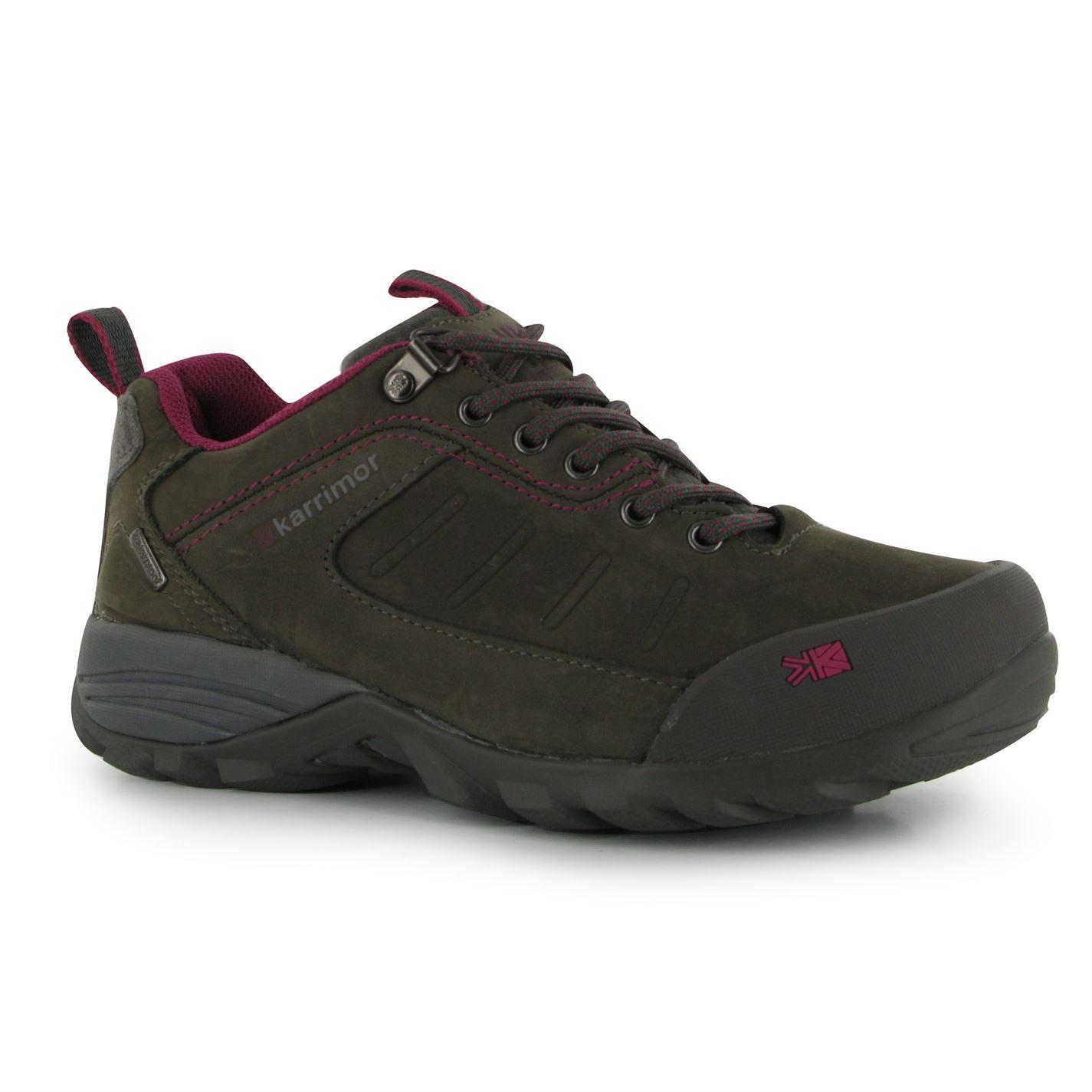 karrimor design 4 walking shoes womens black pewter hiking
