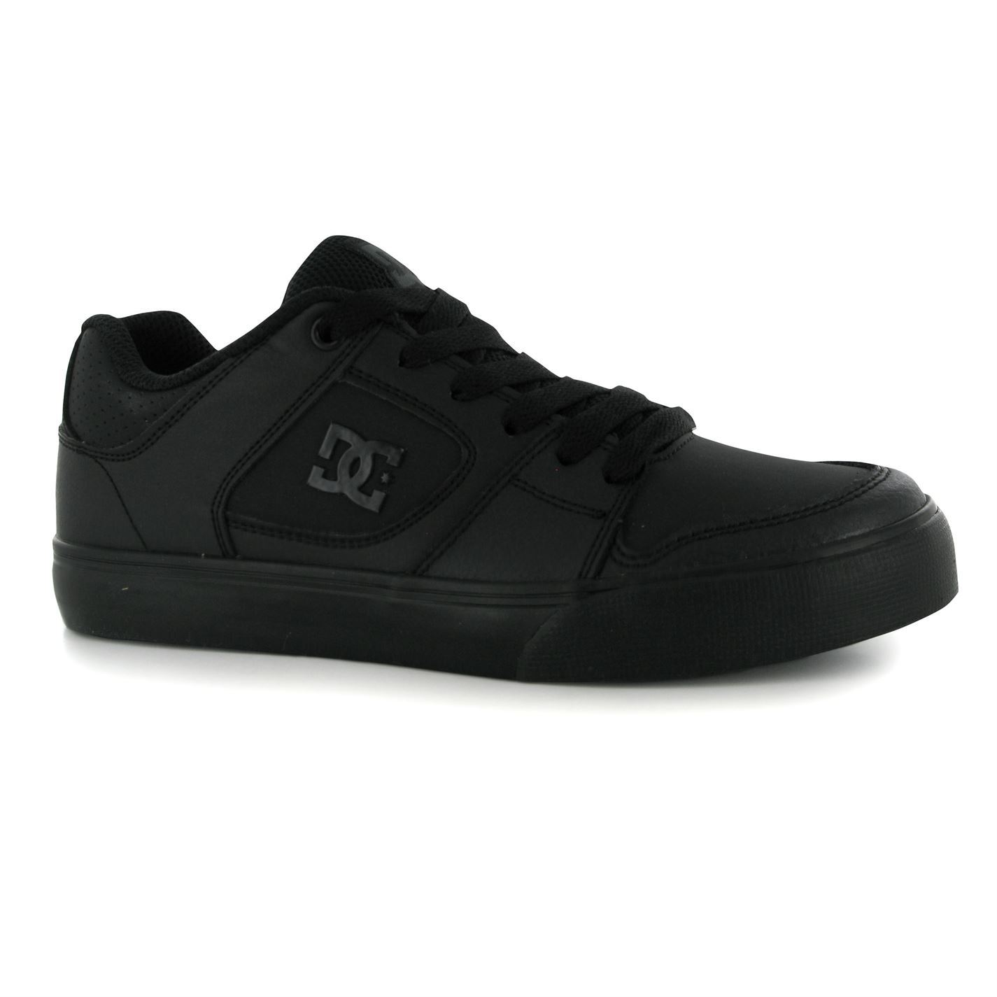 Skate shoes dc - Dc Shoes Blitz Skate Shoes Junior Boys Black Trainers Sneakers Footwear