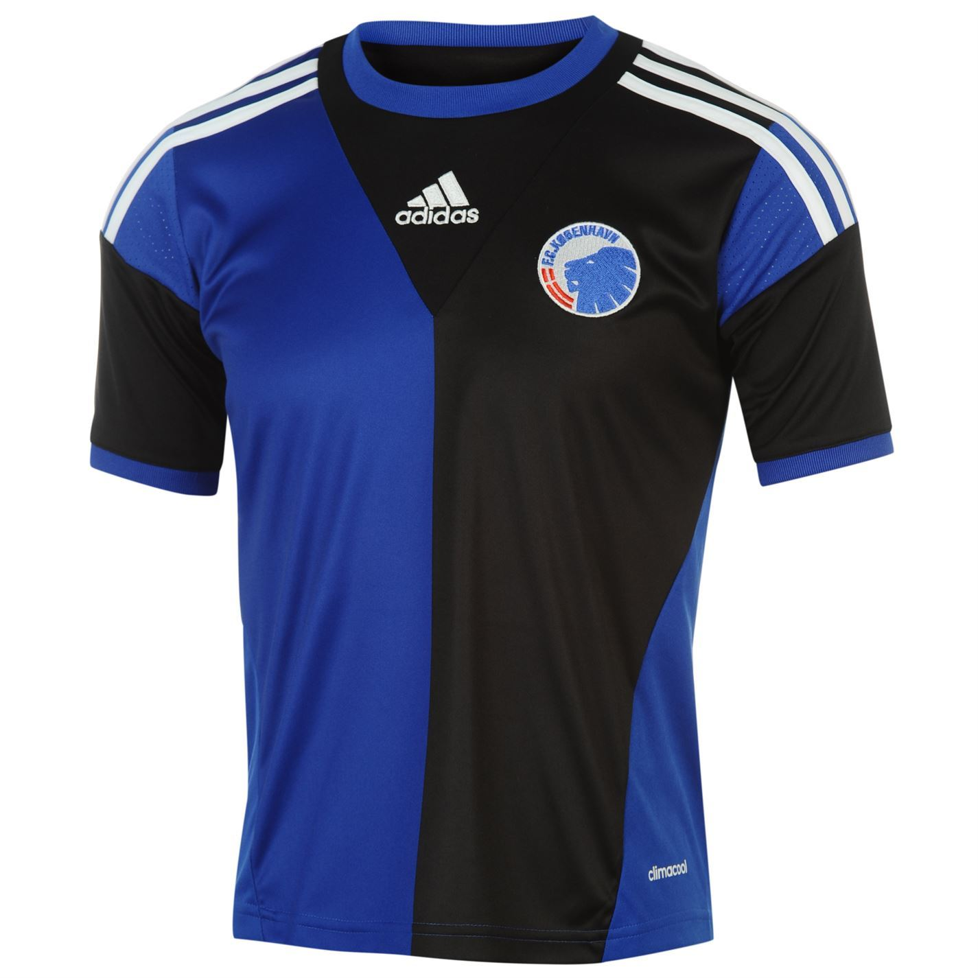 Adidas Copenhagen Away Jersey   Mens Black Blue Shirt Football