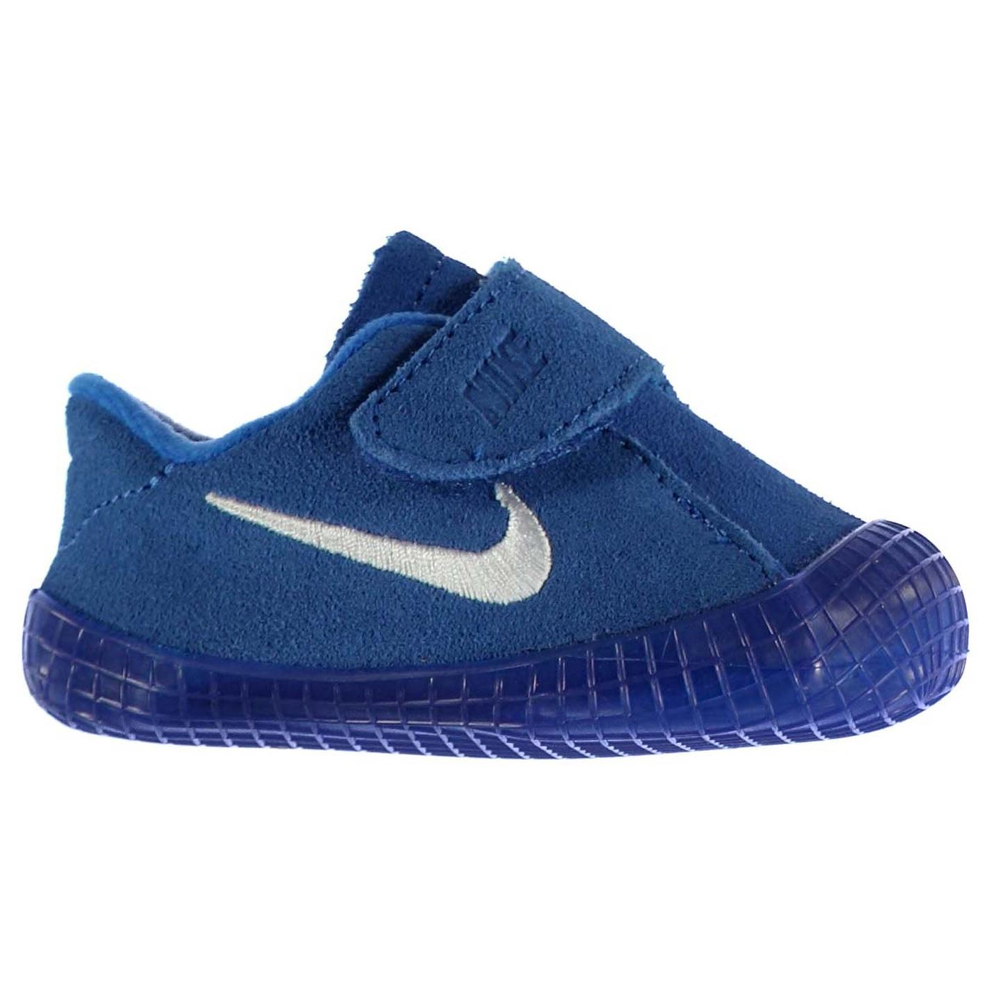 Nike Waffle Crib Shoes Infant Baby Boys Blue/White Babies ...