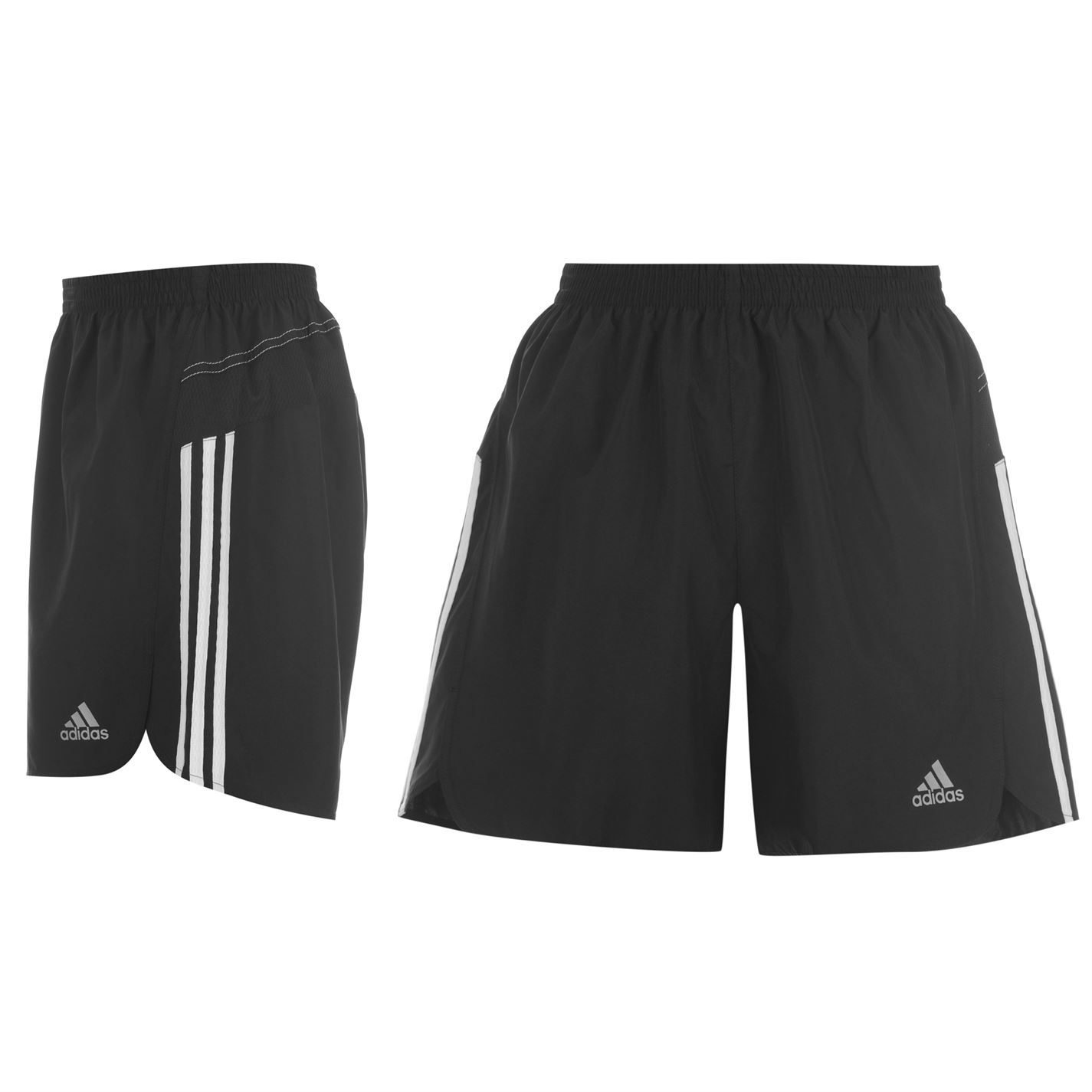 adidas climalite response 5 inch running shorts mens black. Black Bedroom Furniture Sets. Home Design Ideas