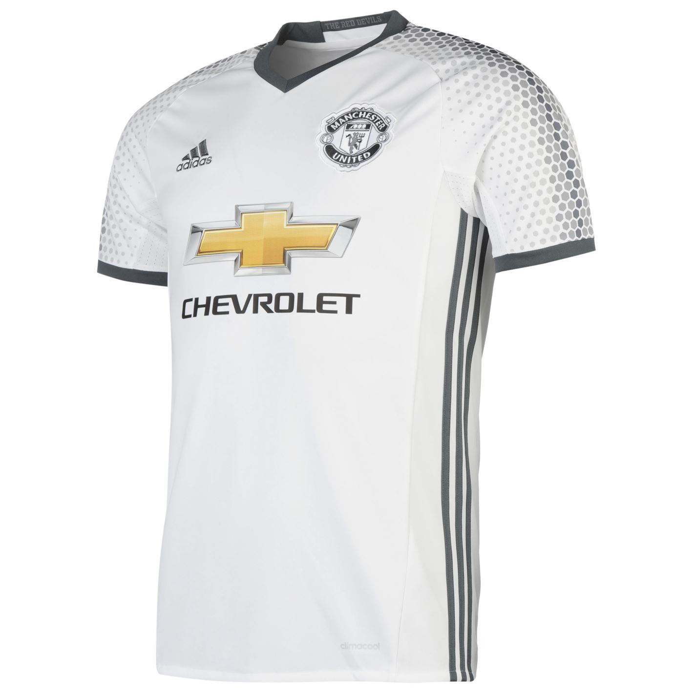 pretty nice 9bf88 f3357 Details about Adidas Manchester United 3rd Jersey 2016 2017 ...