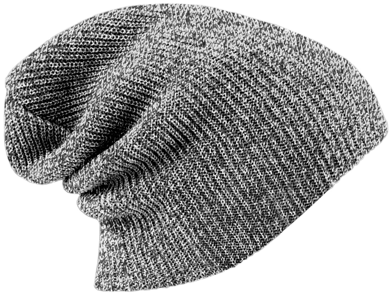 Unisex Men Women Knitted Floppy Slouch Beanie Hat Chunky Outdoor Winter Cap ...