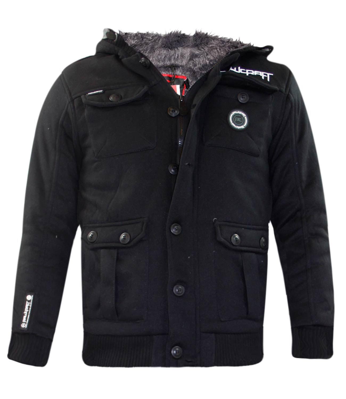 New Kids Rawcroft Branded Jackets Boys Furliner Winter Coats Sherpa Fleece Lined